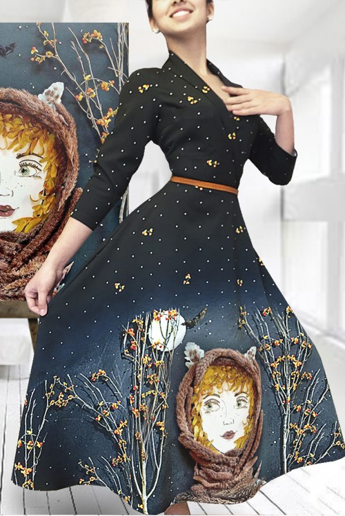 Платье Стелла ( Девочка-лиса)