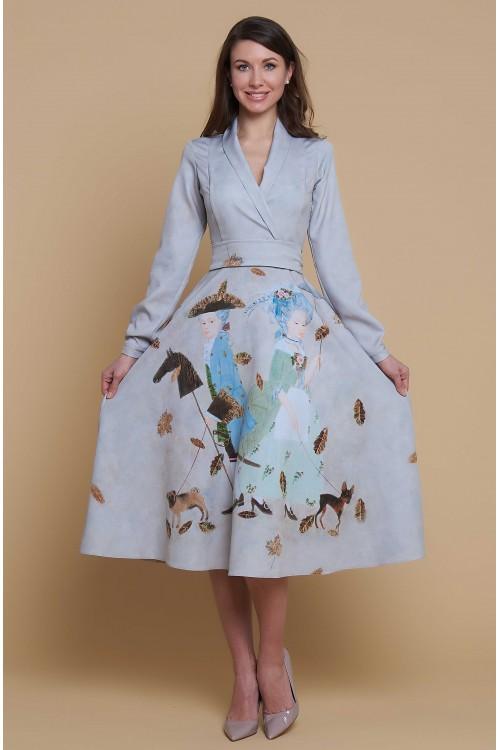 Платье Хела 2 (Две собачки)