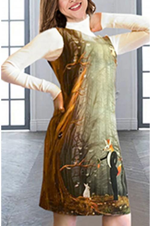 Платье Инга (Принт)