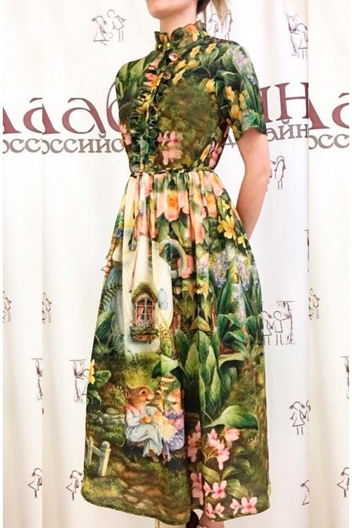 Платье Ирина (Дом в чашке)