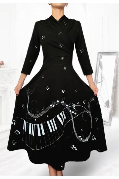 Платье Ирма (Ноты)