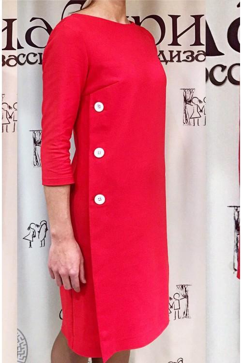 Платье Клариса (красный)