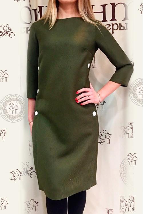 Платье Клариса (хаки)