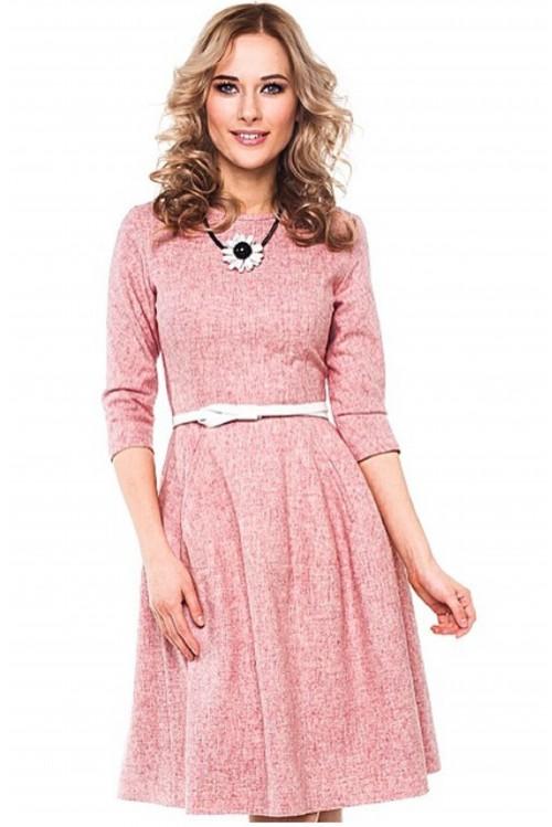 Платье Колокол (розовый)
