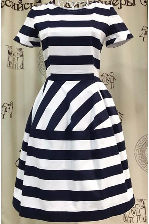 Платье Колокол (с вышивкой)