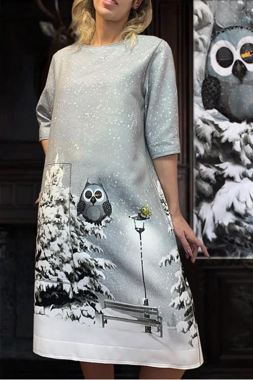Платье Кристина (В ассортименте)