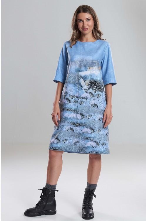 Платье Кристина (Зимняя сказка)