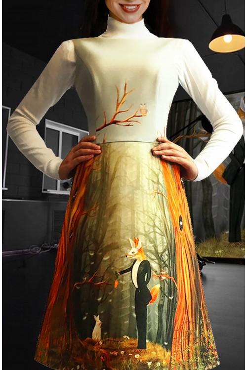 Платье Лада (Лиса и морковка)