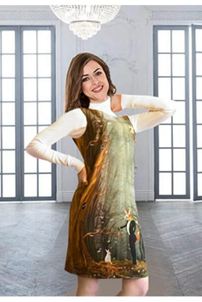 Платье Инга ( Лиса и морковка)