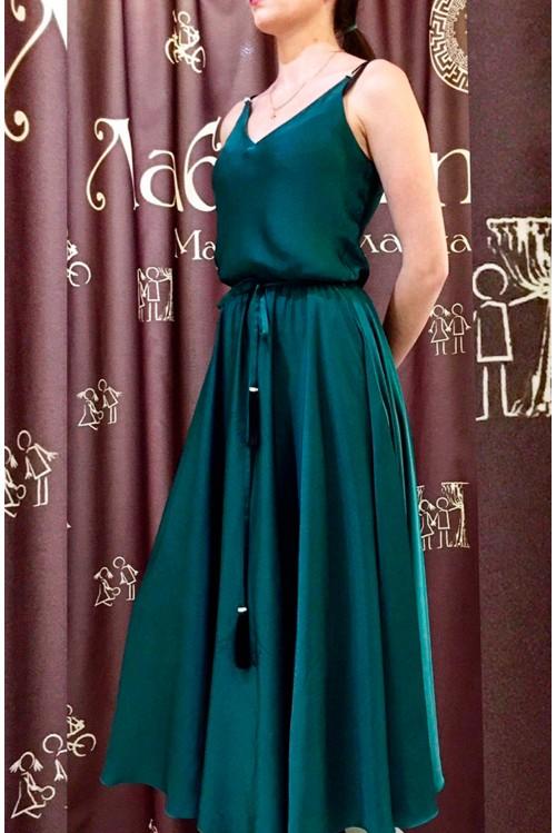 Платье Лайма (изумрудный)