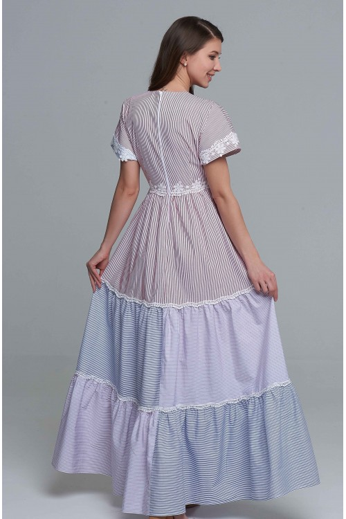 Платье Ласточка (Полоска)