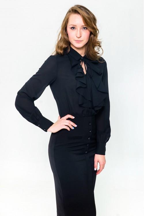 Платье Лилу (C жабо)