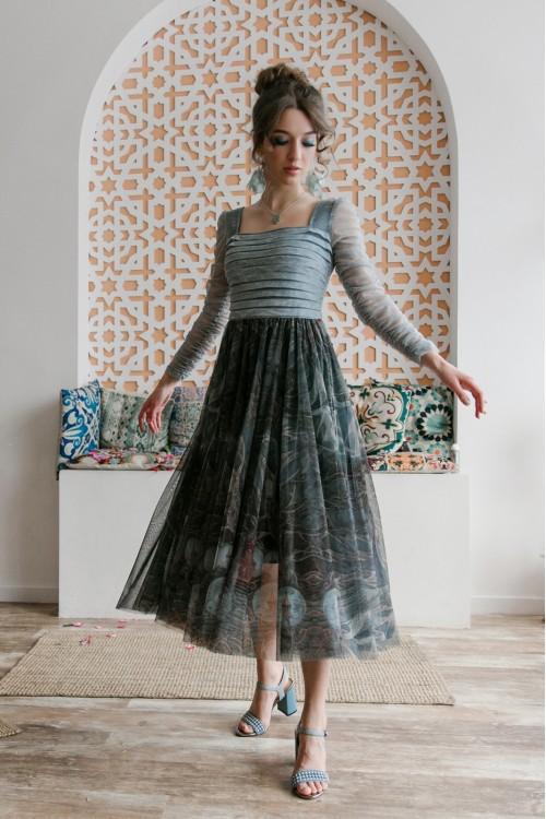 Платье Лавиния (Мартовские коты/Домик в лесу)