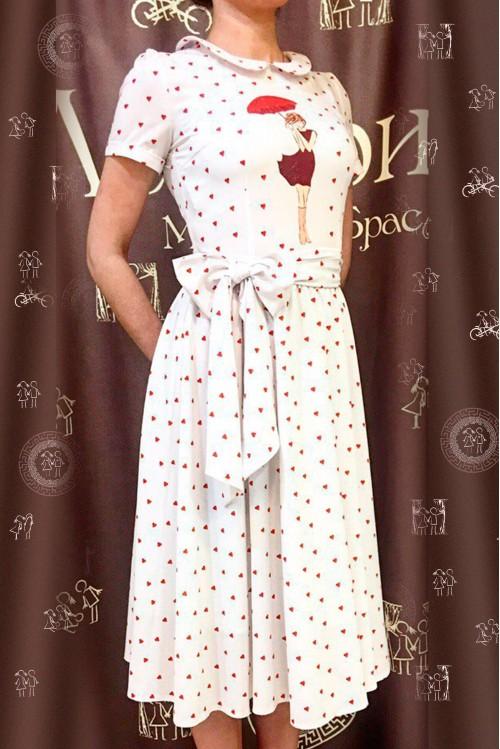 Платье Лиза (Весенний дождь)