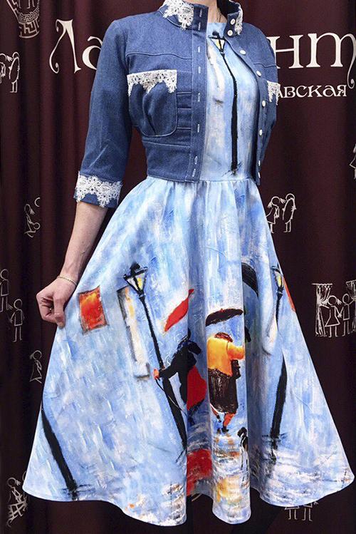 Платье Лиза (Три грации)