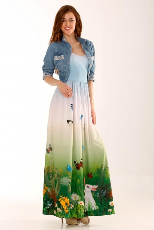 Платье Лори (Небо и земля)