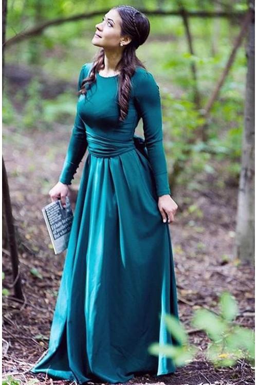 Платье Луиза (зеленый).