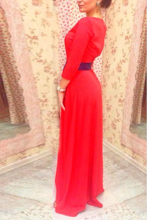Платье Луиза (красный).