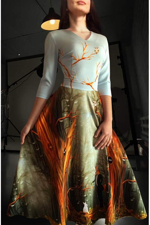 Платье Любовь (Лиса и морковка)