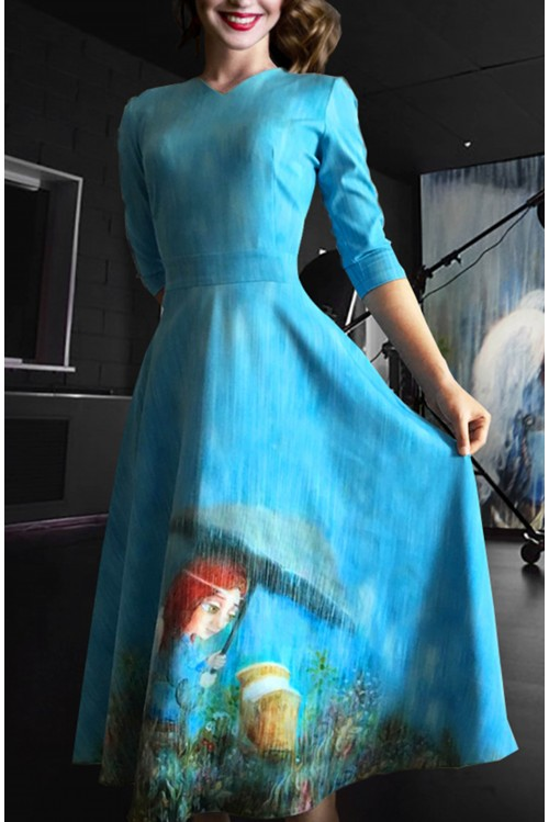 Платье Любовь (Мама-Ангел)