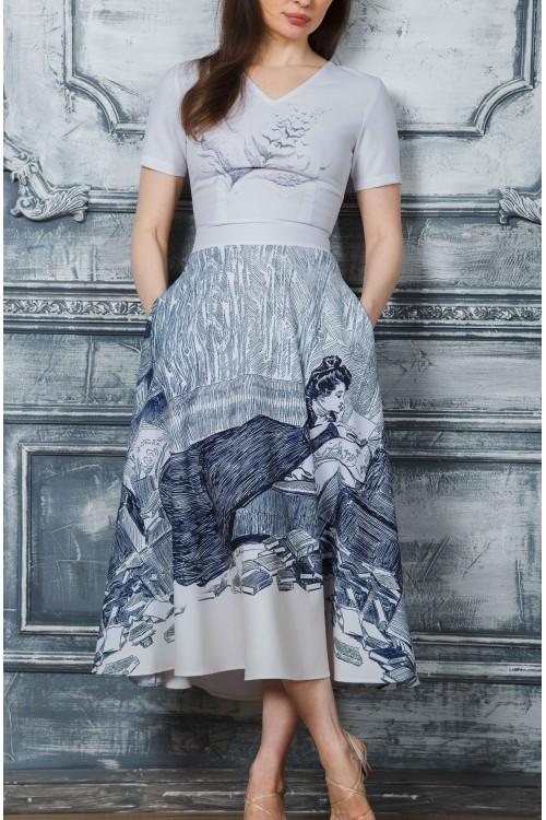 Платье Любовь (Принт)