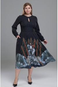 Платье Людмила 2 (Одинокие волчицы) PS из вискозы