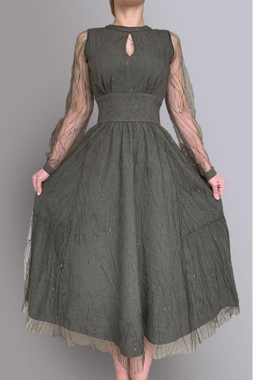 Платье Людмила 2 (гипюр)