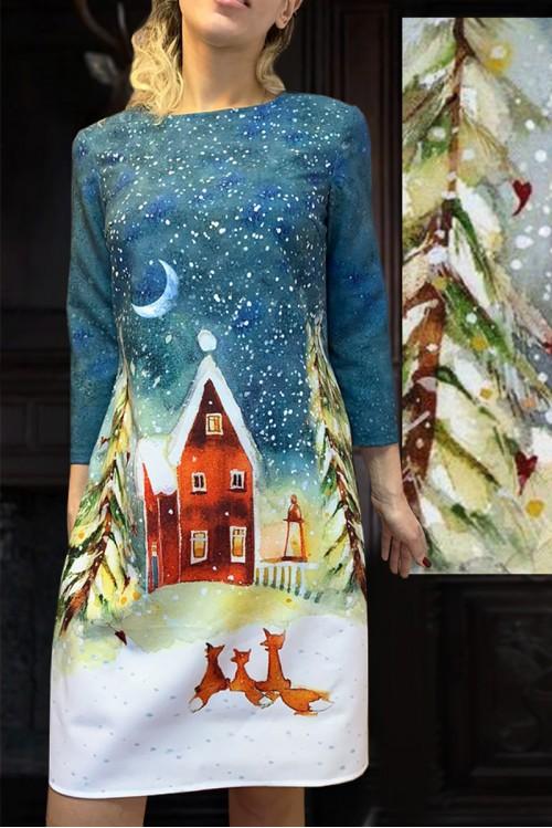 Платье Маки (Три лисы)