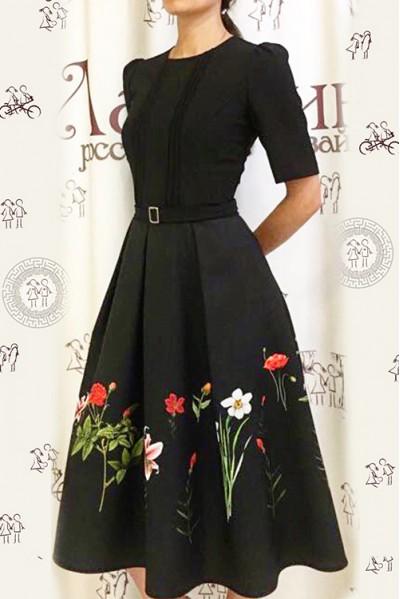 Платье Маргарита (Цветы)