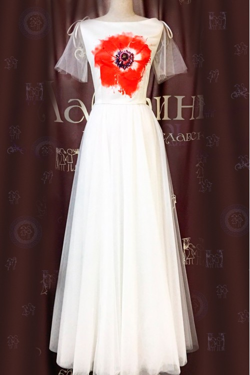 Платье Мариэтта (Мак)