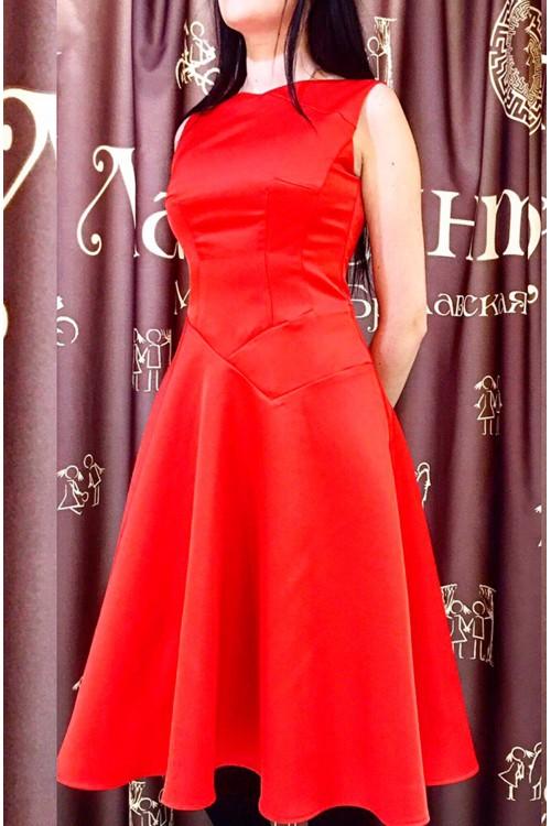 Платье Марта (красный)