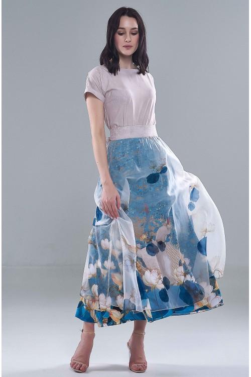 Платье Машенька (Красноголовые цапли)