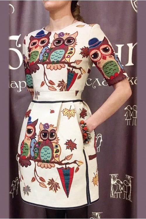 Платье Мила (Совы)