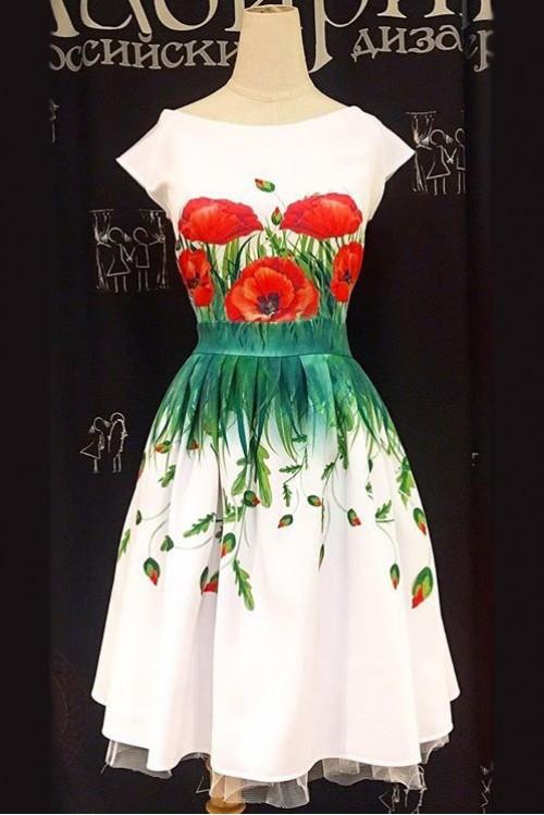 Платье Мирабель (Маки)