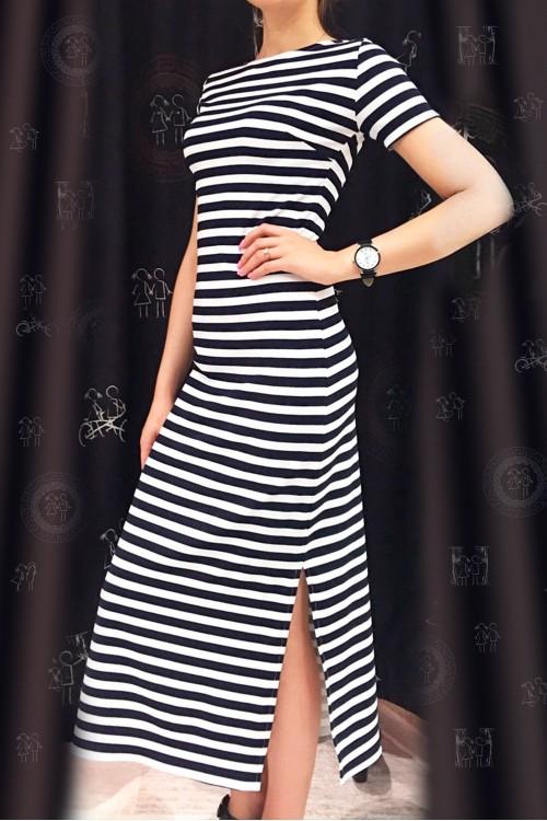Платье Море (Полоска)