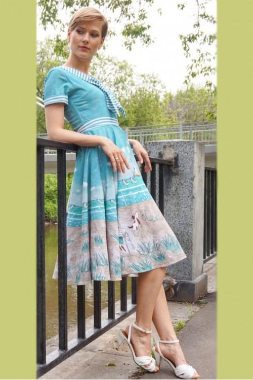 Платье Морской бриз (Лето будет)