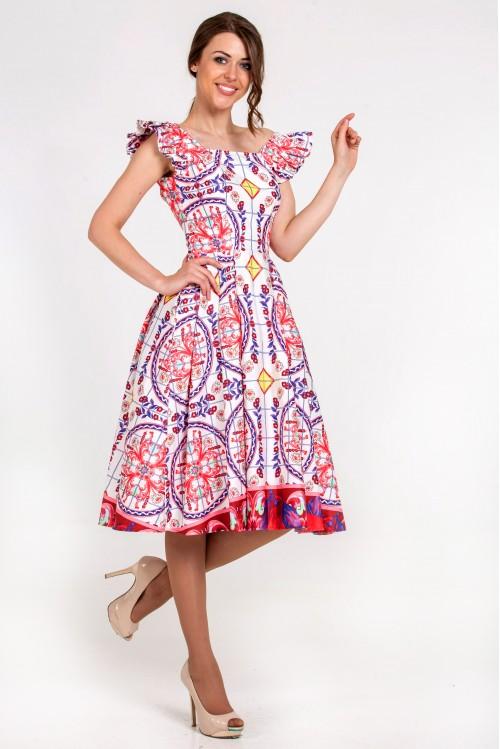 Платье Нелли (Орнамент)
