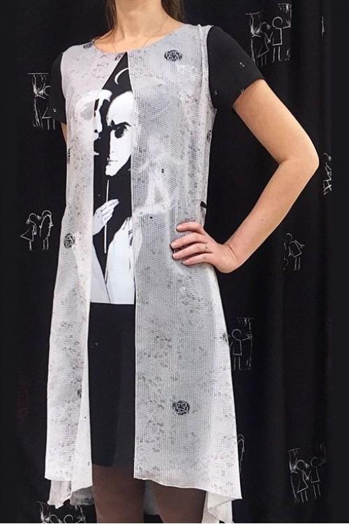 Платье Окошко (Вертинский и космос)