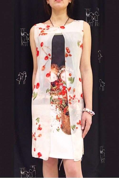 Платье Окошко (Ягодки)