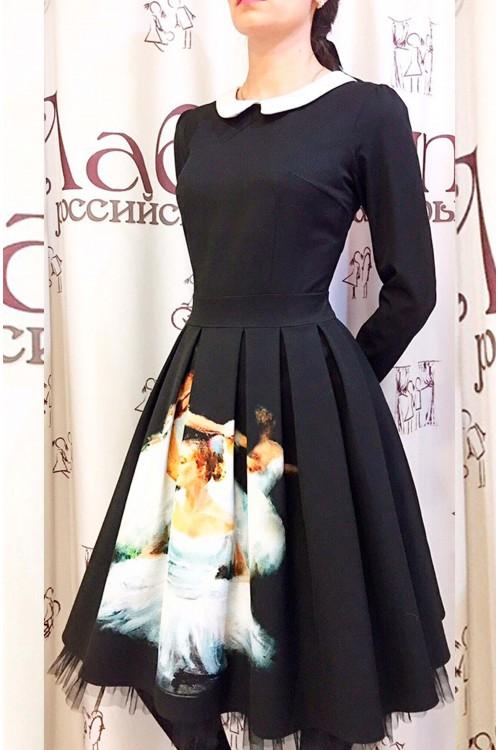 Платье Олеся (Принт)