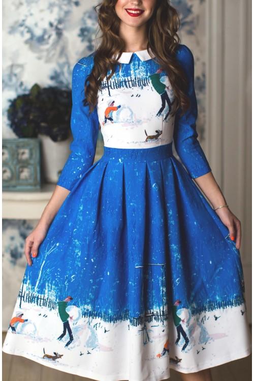 Платье Олеся (Зима)