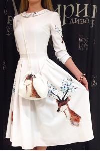 Платье Олеся (Весенний олень)