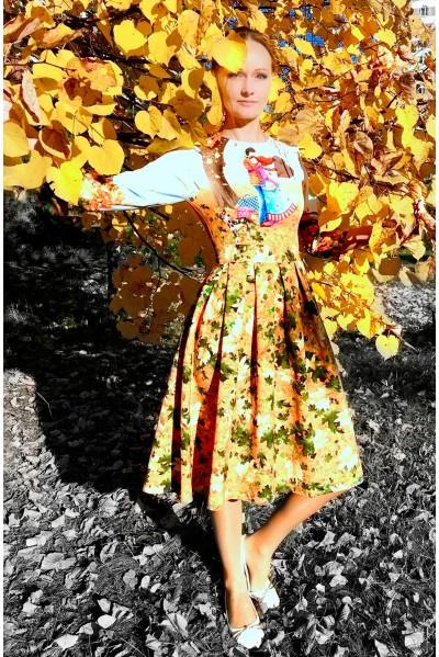 Платье Оливия (Объятия осени)