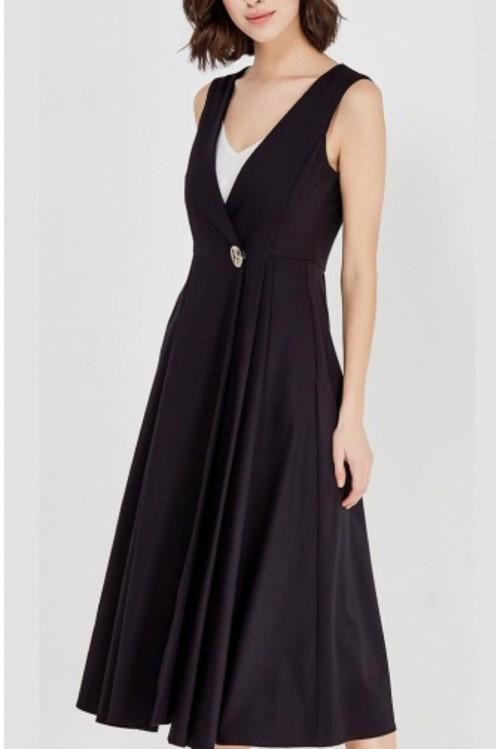 Платье-жилет Патрис (черный)