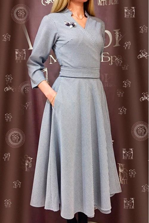 Платье Полетт (Гусинная лапка)