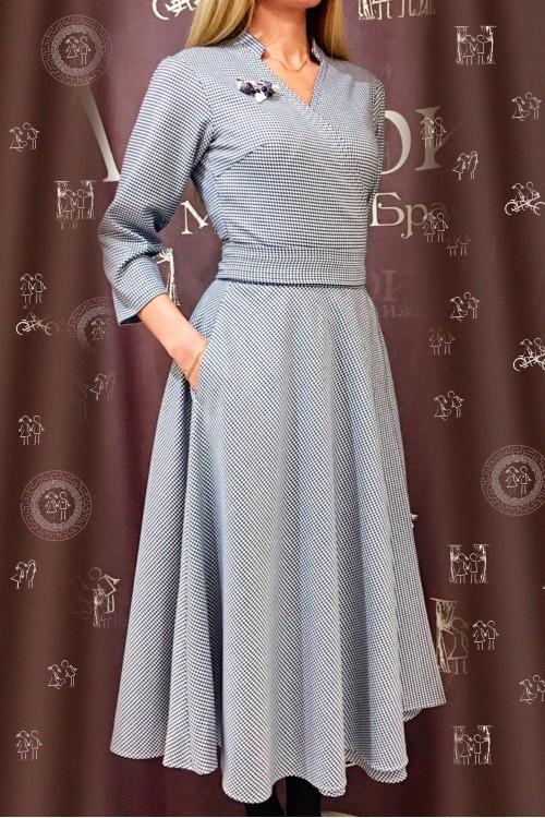 Платье Полетт (теплое)