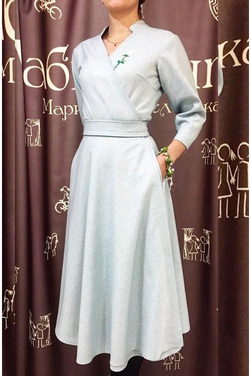 Платье Полетт (серый)