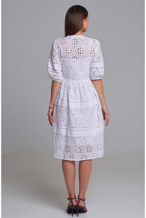 Платье Полина (Кружево, хлопок)
