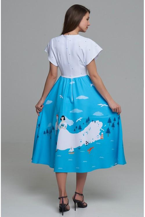 Платье Птичка (Свадьба)