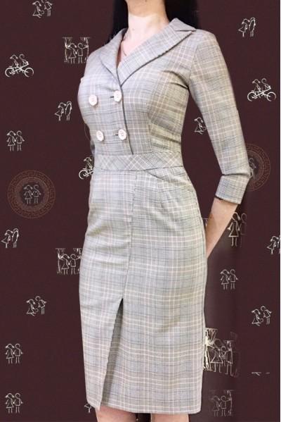 Платье Регина (Клетка II)